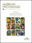 American Psychologist vol 61(3)