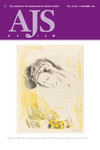AJS Review: The Journal of the Association for Jewish Studies